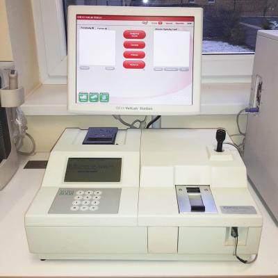 Biochemický analyzátor VetTest 8008
