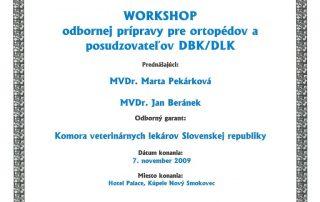 Veterinárna klinika Bardejov | Certifikát | MVDr. Patrik Ličko
